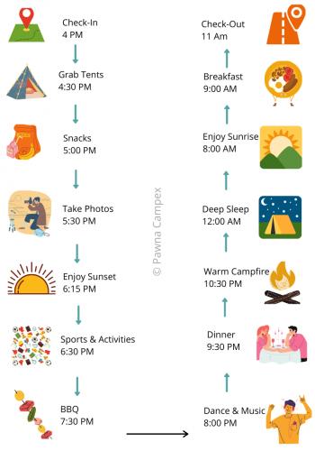 Pawna Lake Camping Schedule